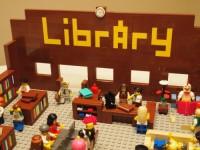 Lego Librarians hard at work