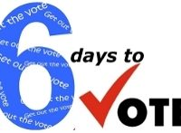 Get Out the Vote Countdown:  Primary Election is in 6 Days!