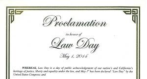 Oceanside Lawday 2014 Proclamation