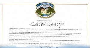 San Marcos Lawday 2015 Proclamation