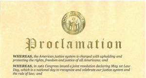 Vista Proclamation