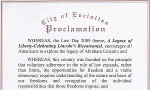 Encinitas Proclamation
